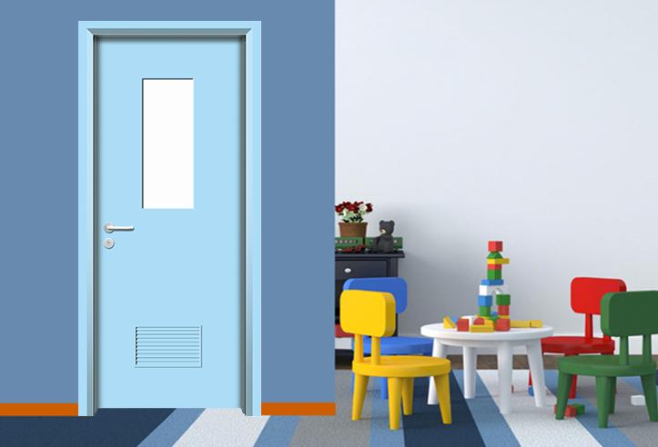 幼儿园卡通门
