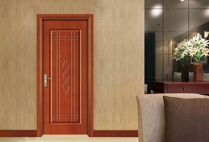 雕花烤漆门