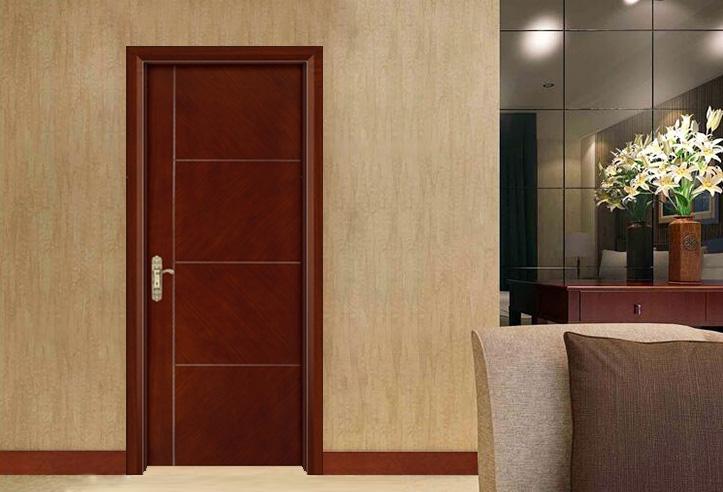 新中式烤漆木门