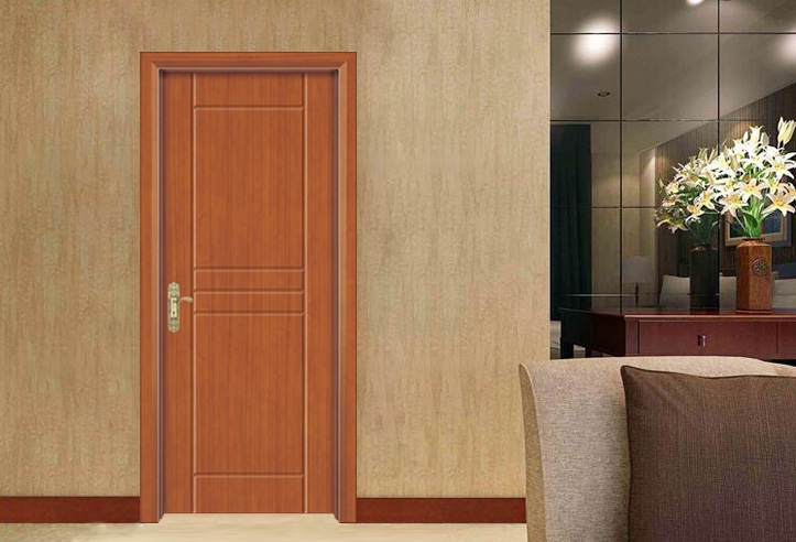 现代烤漆木门
