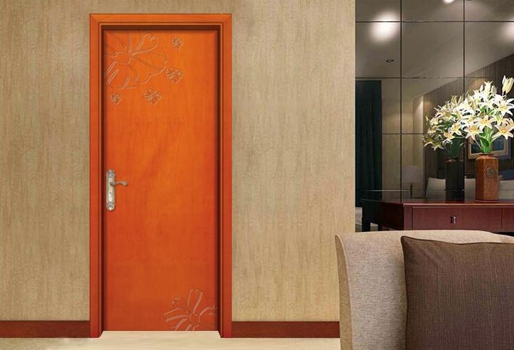 中式实木复合门