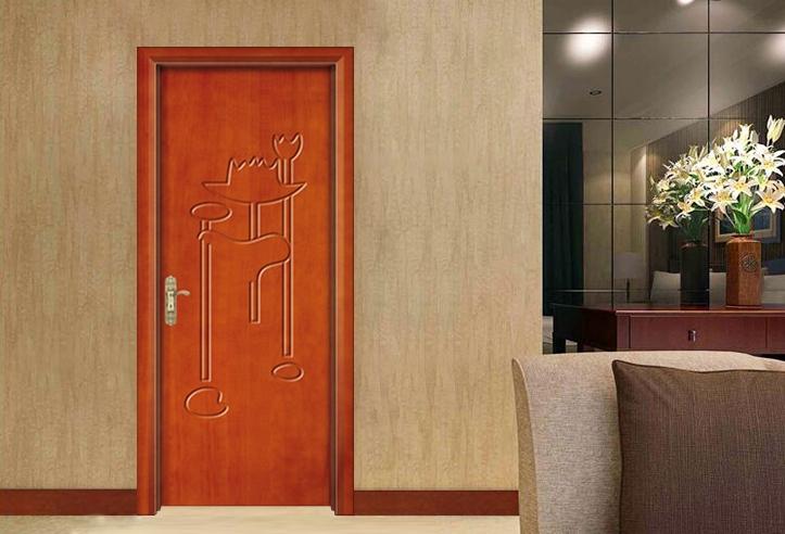 简约实木复合门