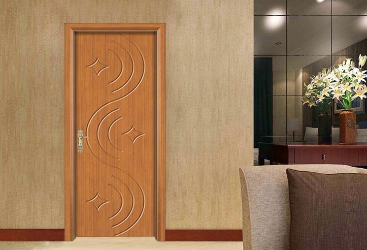 复古实木复合门