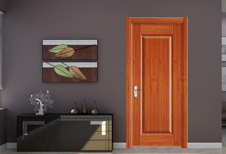 房间实木夹板门